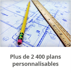 Plus de 2400 plans personnalisables